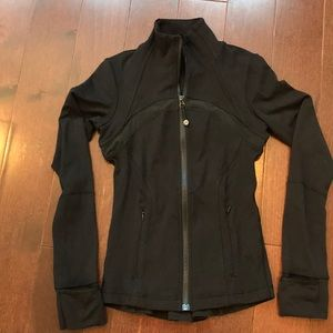 Rare lululemon shine on define jacket size 4